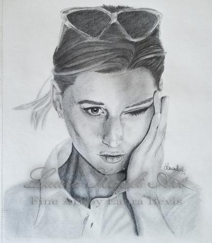 """""""Aly Michalka"""" Fan Art"""