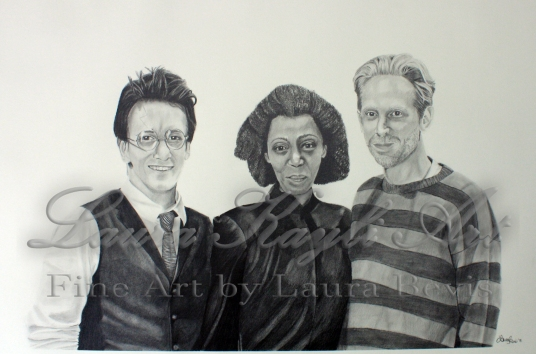"""""""Golden Trio"""" Harry Potter and the Cursed Child Fan Art"""
