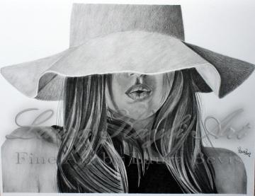 11x14 Graphite Drawing