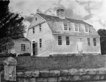 """""""Old Charm"""" 11x14 Graphite Drawing"""