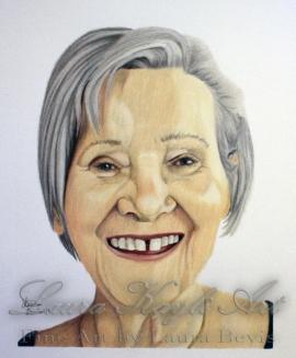 """Nan"" Colored Pencil Portrait"