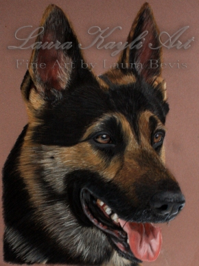 """Ovie"" Colored Pencil Portrait"
