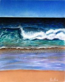 """Seascape"" Pastel Painting"