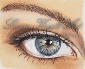 Colored Pencil Eye Study-Watermark